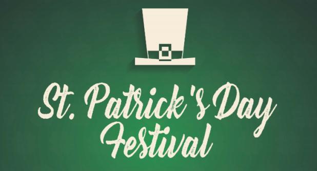 St. Patrick's Day Festival Banner