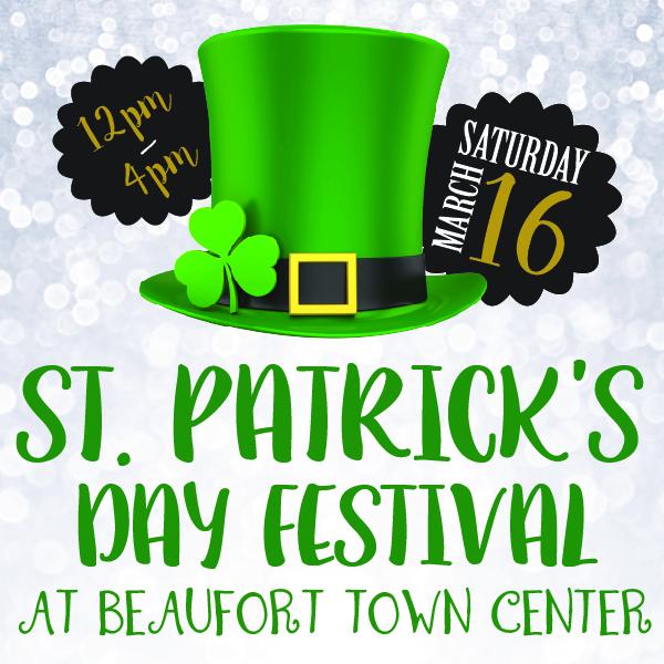 St. Patrick's Day Festival Beaufort Town Center
